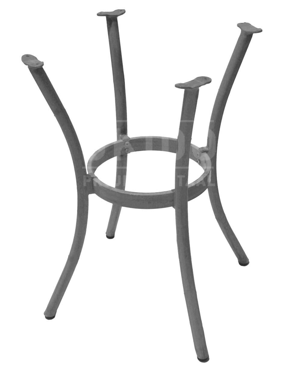 5791 - Tafelonderstel Milano Zilver