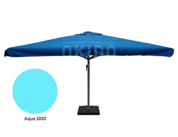 Parasol Karin 4x4 aqua