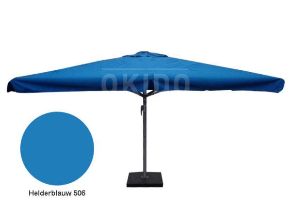Parasol Karin 4x4 helderblauw