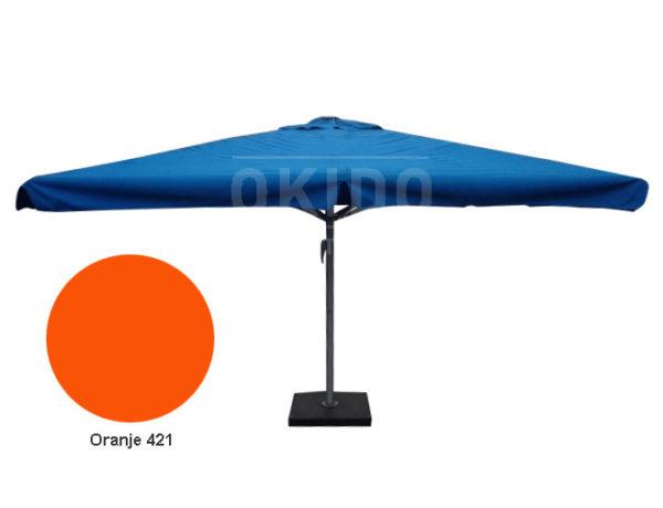 Parasol Karin 4x4 oranje