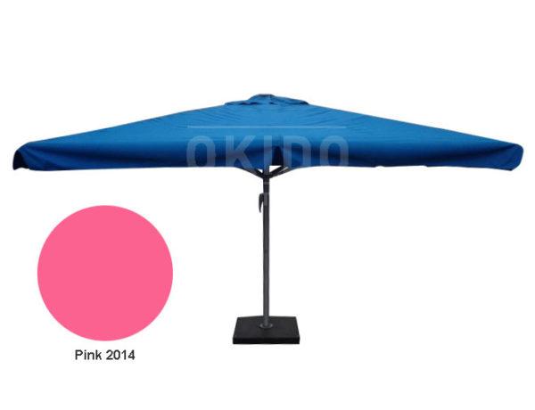 Parasol Karin 4x4 pink