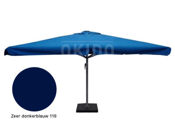 Parasol Karin 4x4 zeer donkerblauw