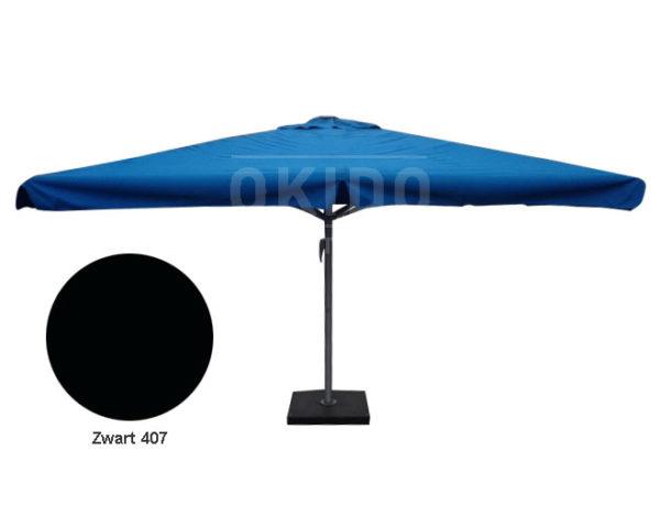 Parasol Karin 4x4 zwart
