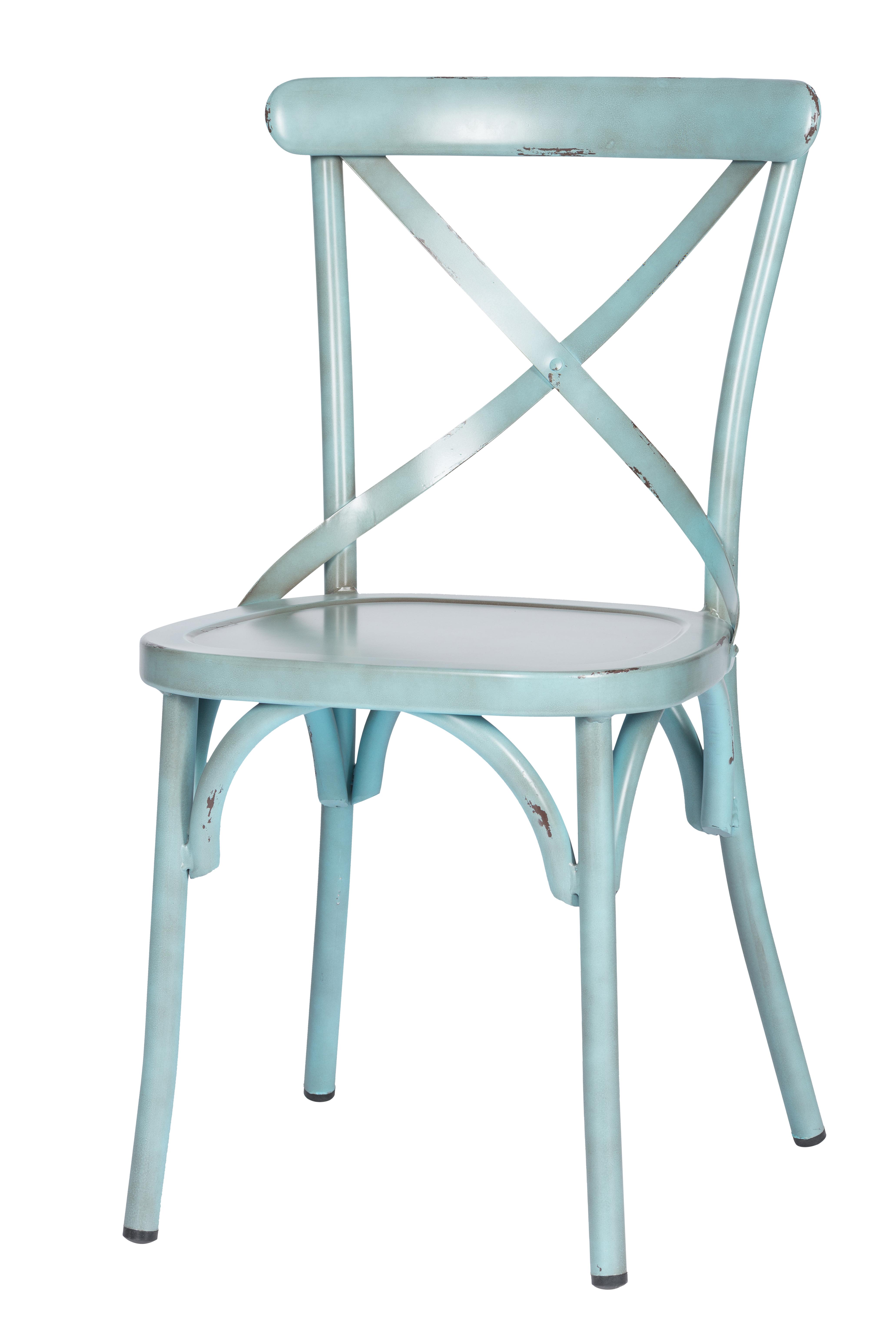 Lynn Vintage Blue - Stoel Lynn Blue