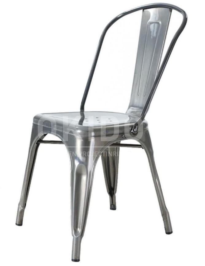 dex stoel metaal - Barkruk Dex Wood