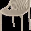 019 air dovegrey front side 100x100 - Terrasstoel Ariane Taupe