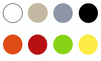 Kleurkaders Ariane - Terrasstoel Ariane met arm Tropical Green