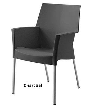 101010038 tekst - Terrasstoel Sole charcoal
