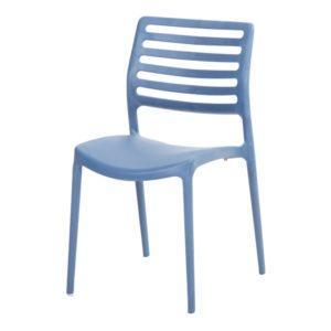 Terrasstoel Gino blauw