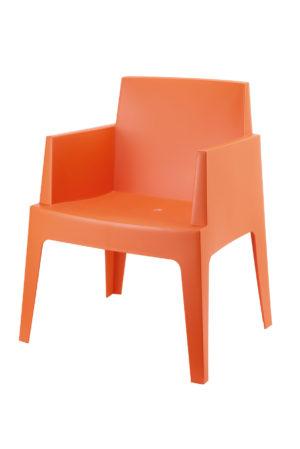 Box orange 300x449 - Terrasstoel Box Orange