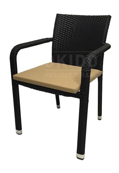 IMG 8132logo 415x600 - Terrasstoel Java Black string