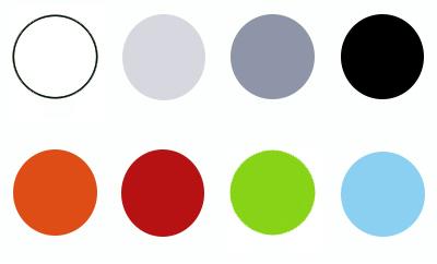 Kleurkaders Box met blauw - Terrasstoel Diva Dark grey