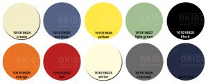 Sole kleurrondjes met logo 300x122 - Terrasstoel Sole Dark blue