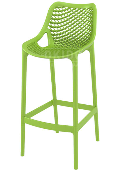 Ariane barchair tropical green 415x600 - Barkruk Ariane Tropical Green