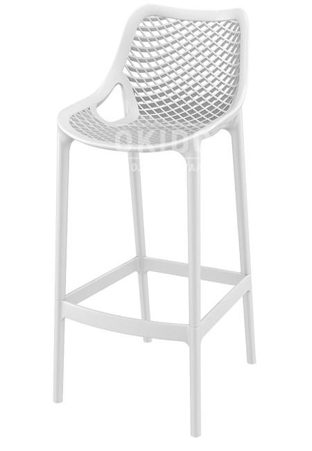 Ariane barchair white 1 - Barkruk Ariane Wit
