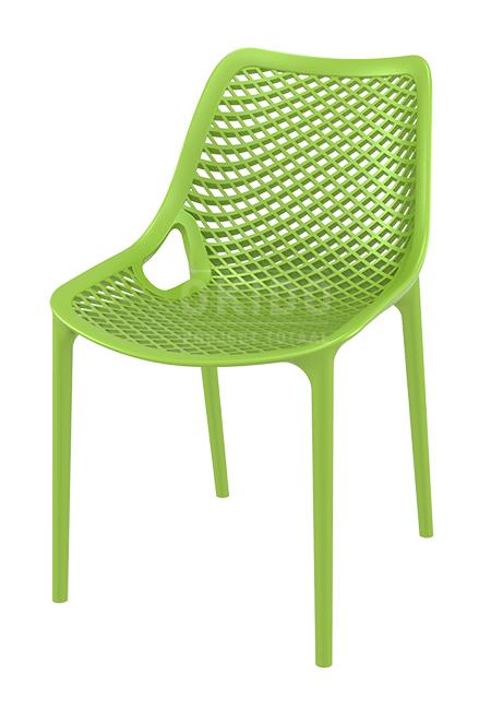 Ariane zonderarm tropicalgreen - Terrasstoel Ariane Tropical Green