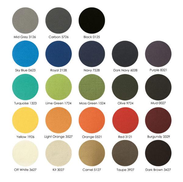 Sunol kleur stalen 600x598 - Zitkussen model Java/Jane