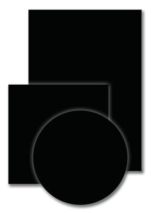 Zwart T011 300x422 - Melamineblad T011 zwart-perl