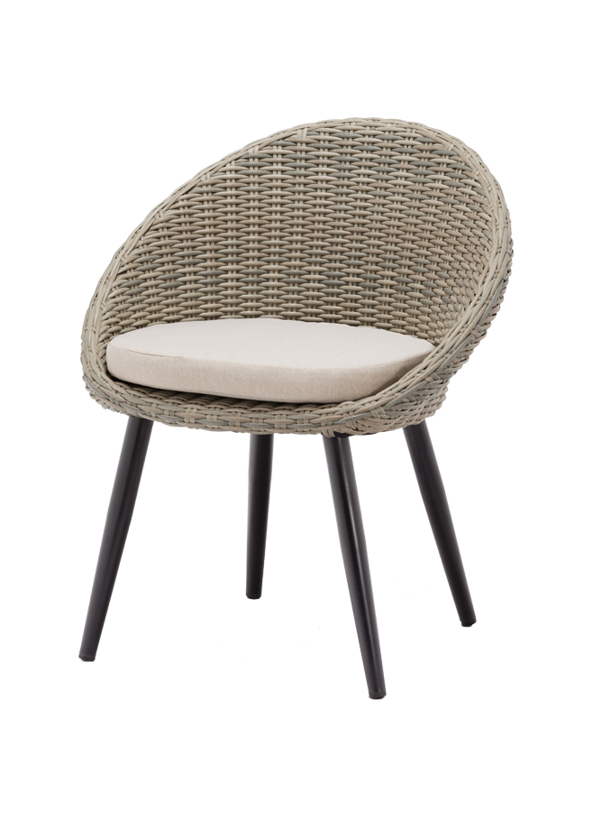 egg chair grey - Terrasstoel Egg Chair Grey