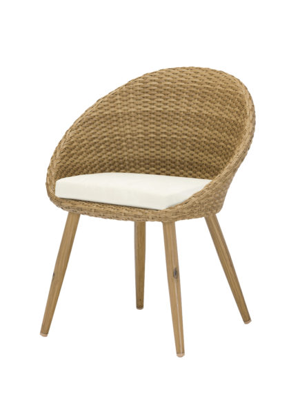 egg chair honey 435x600 - Terrasstoel Egg Chair Honey