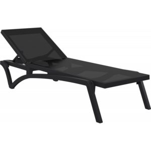 Sunlounger Pacific Black