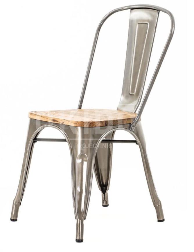 dex stoel hout - Barkruk Dex Wood