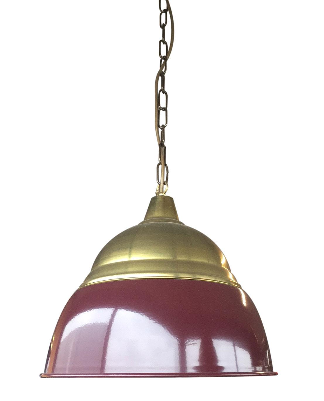rood - Cafélamp Okido Bordeauxrood