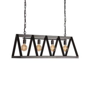Hanglamp Roof zwart staal
