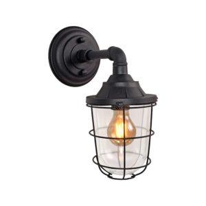 wandlamp_seal_zwart