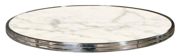 0070 zilver 600x180 - Terrastafelblad 0070 White Marmor Zilver